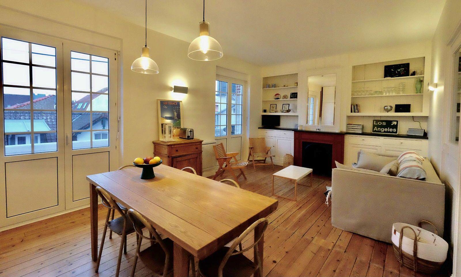 Loue appartement au Touquet, hypercentre, avec terrasse pour 4personnes