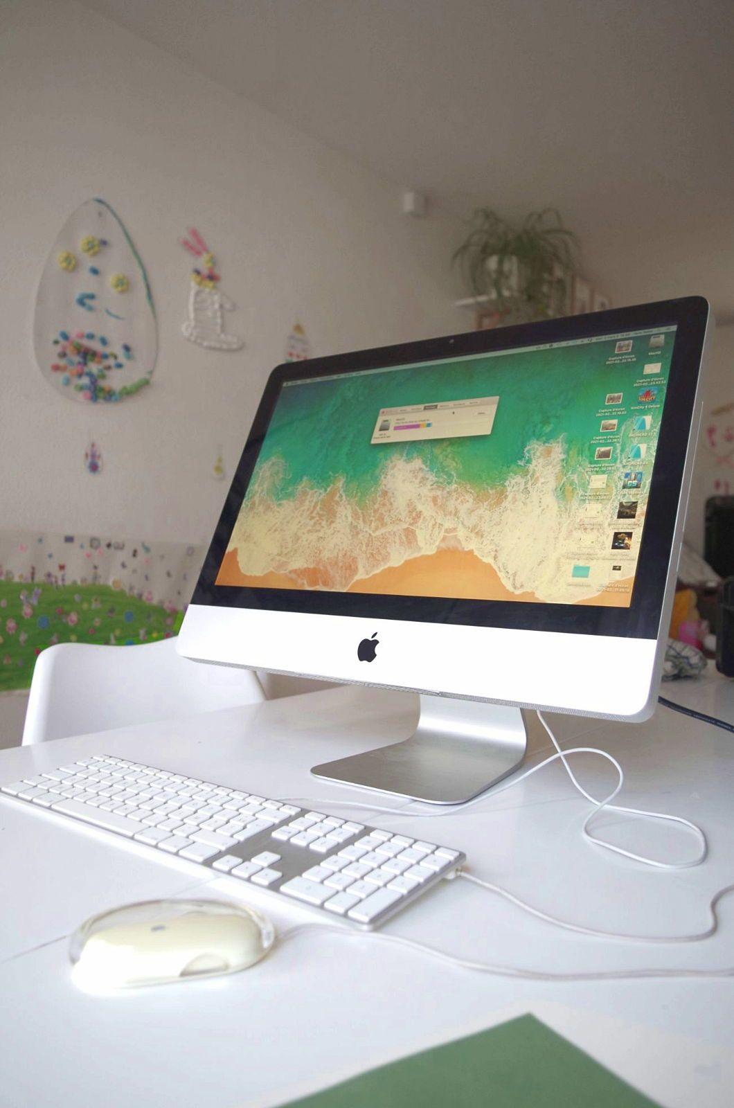 Apple iMac fin 200921,5pouces avec SSD