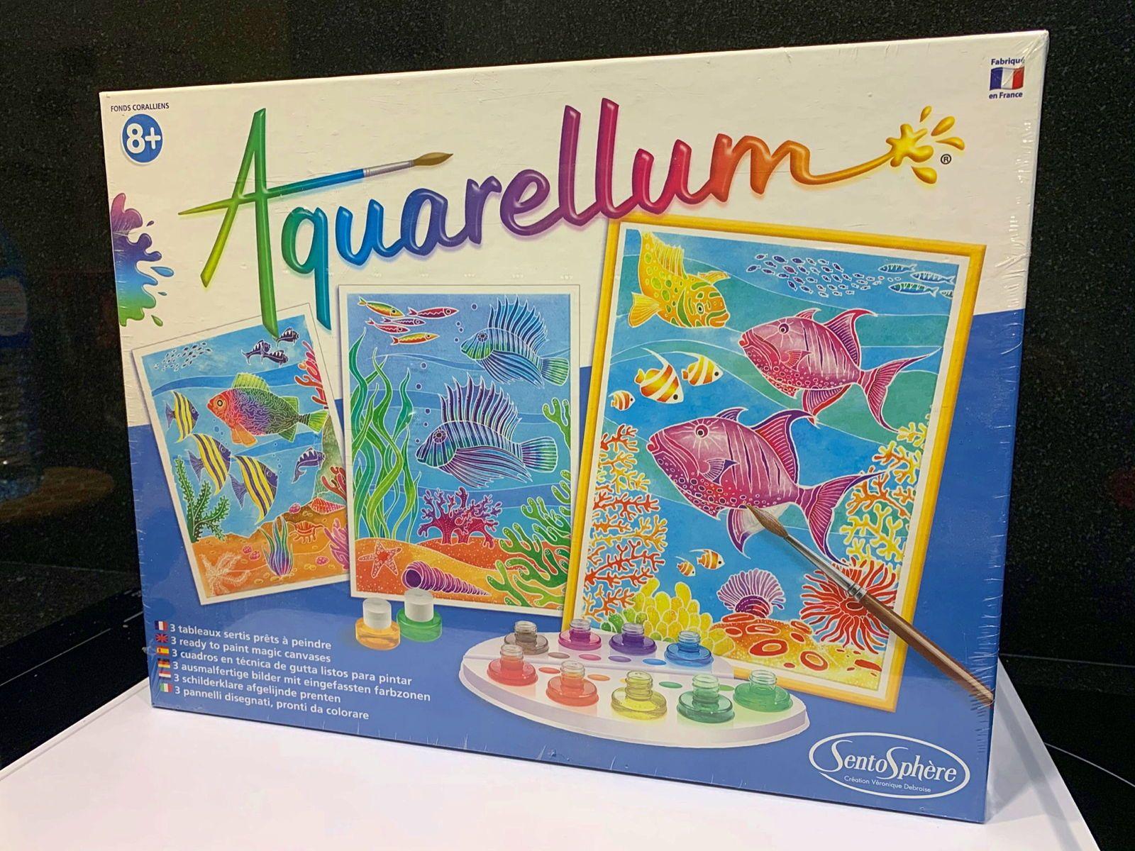 Aquarellum fonds coralliens - Sentosphère