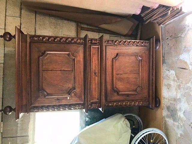 Armoire ou cabinet du XVII siècle