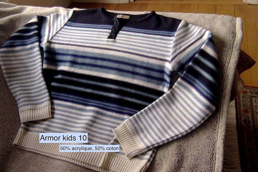 Armor kids pull 10ans