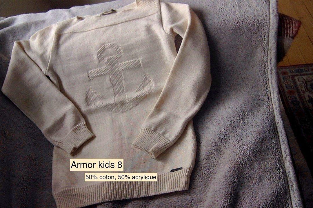 Armor kids pull fille 8ans