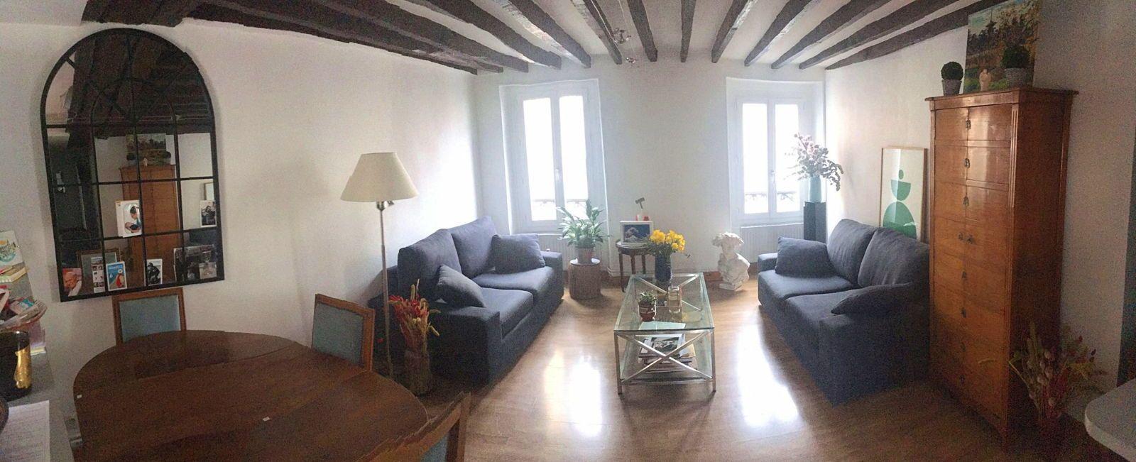 Loue T3Asnieres-sur-Seine 55m² 2chambres