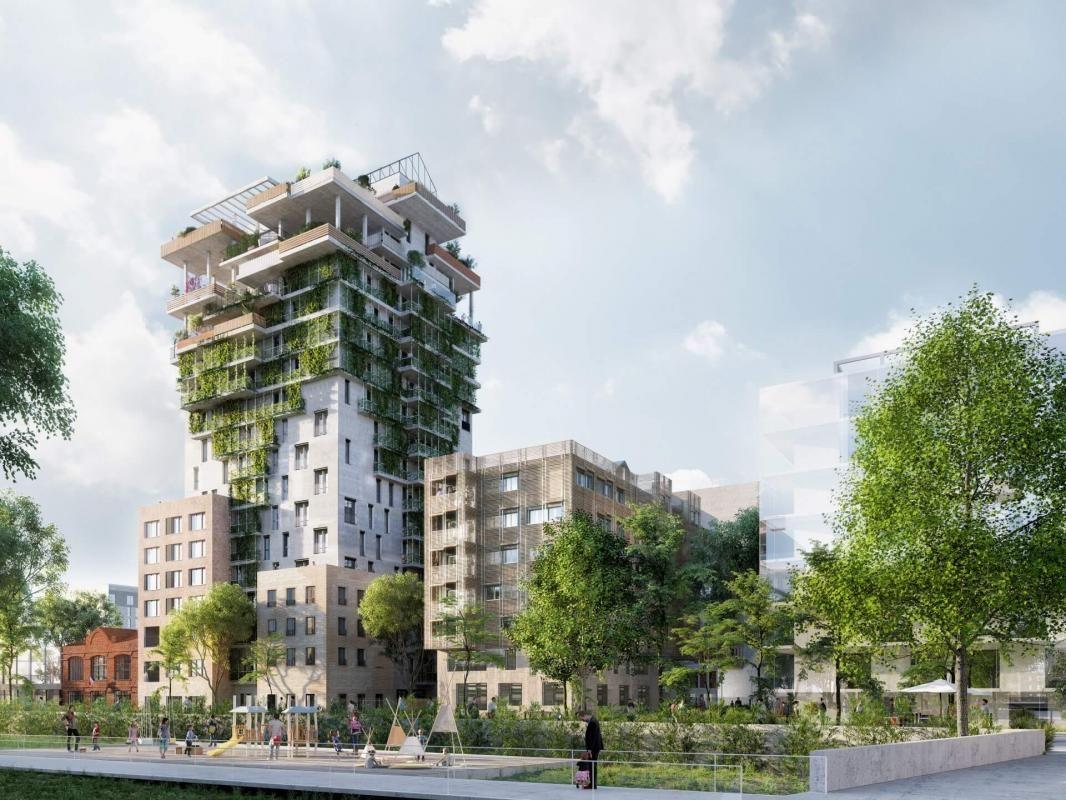 Vends appartements - T2à T4- Sky Garden - Asnieres sur seine (92)