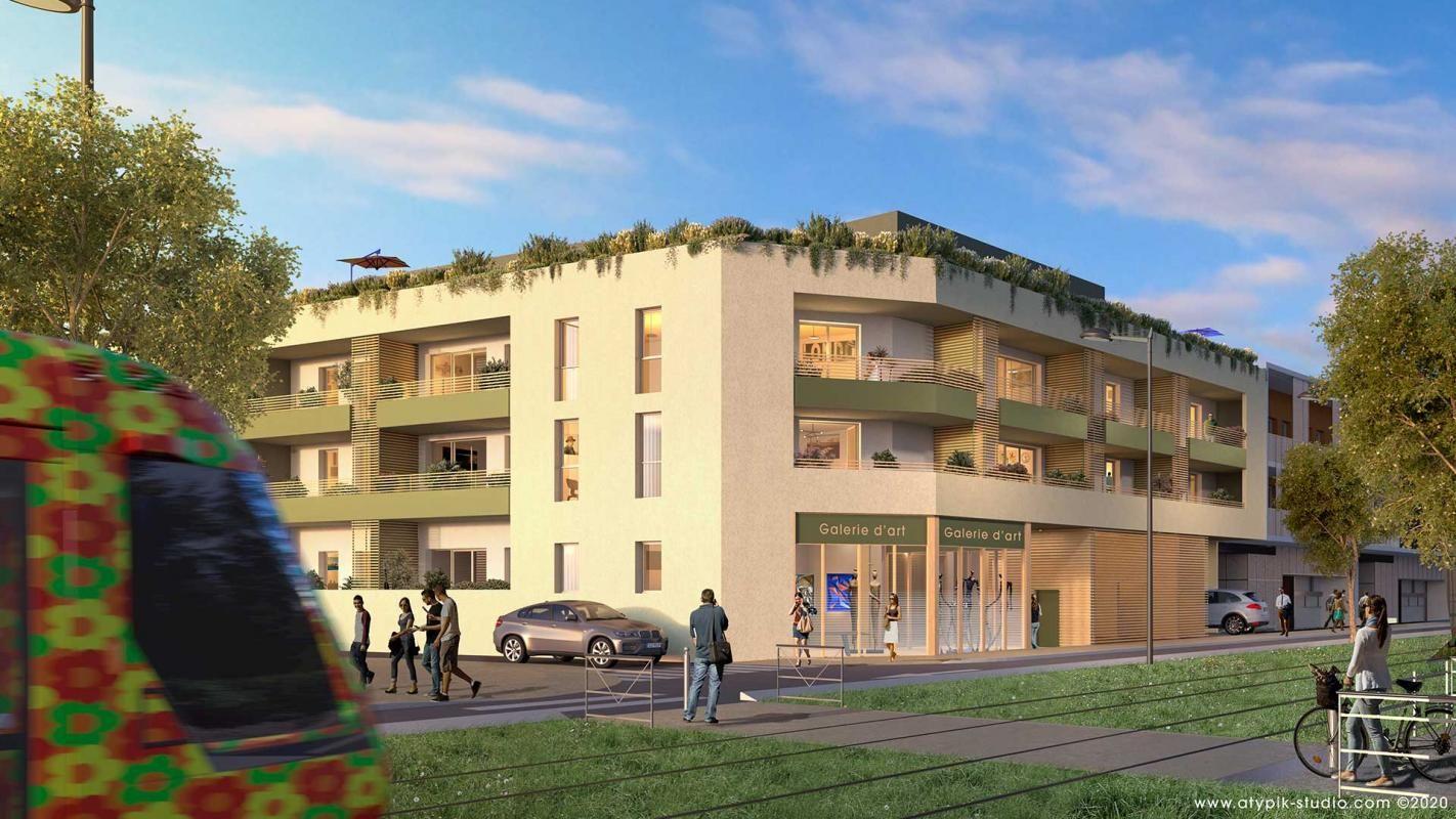Vends appartements - T1à T3- Castel Art - Castelnau le lez (34)