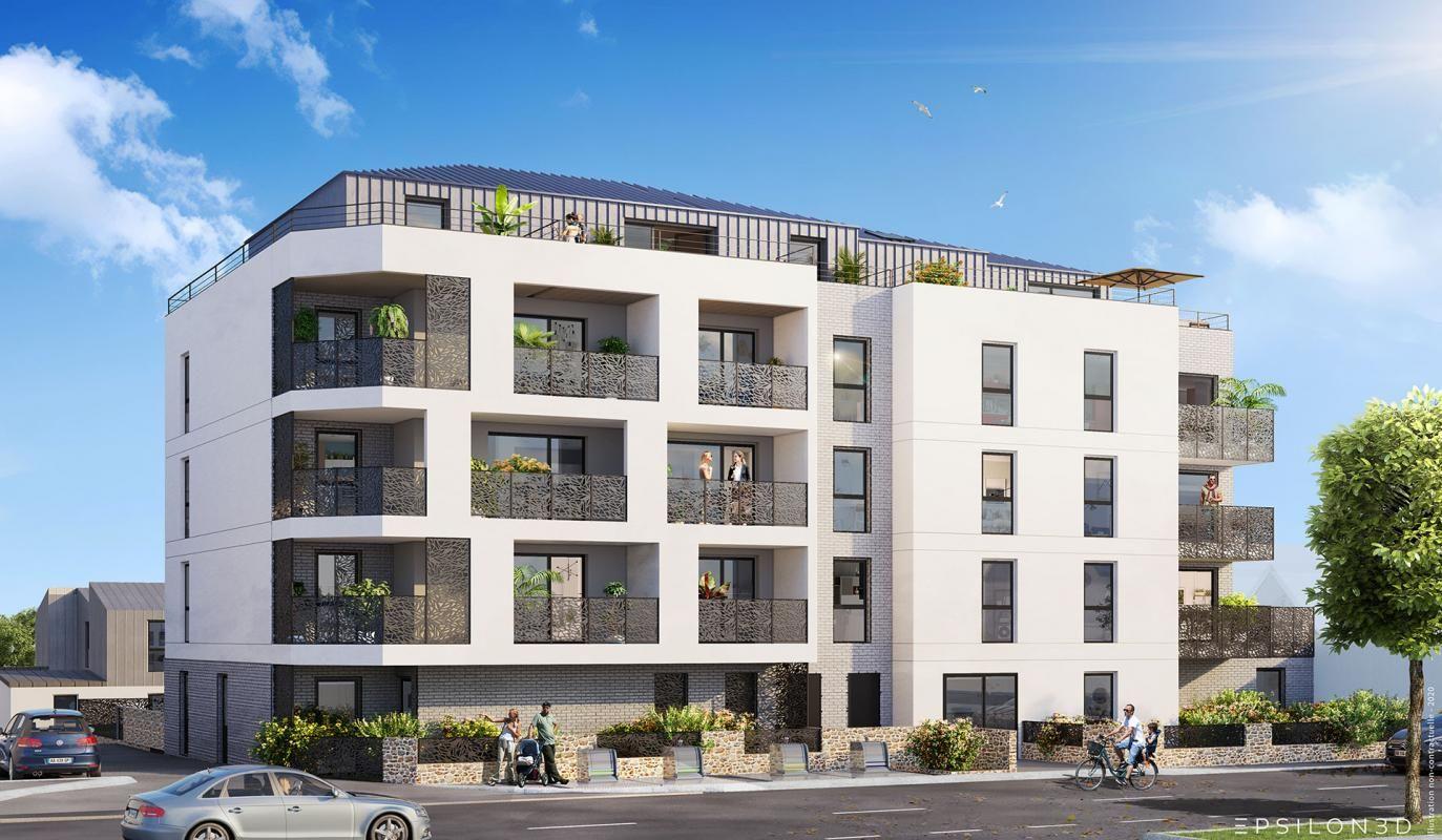 Vends appartements - T2à T4- Le Baltique - St malo (35)