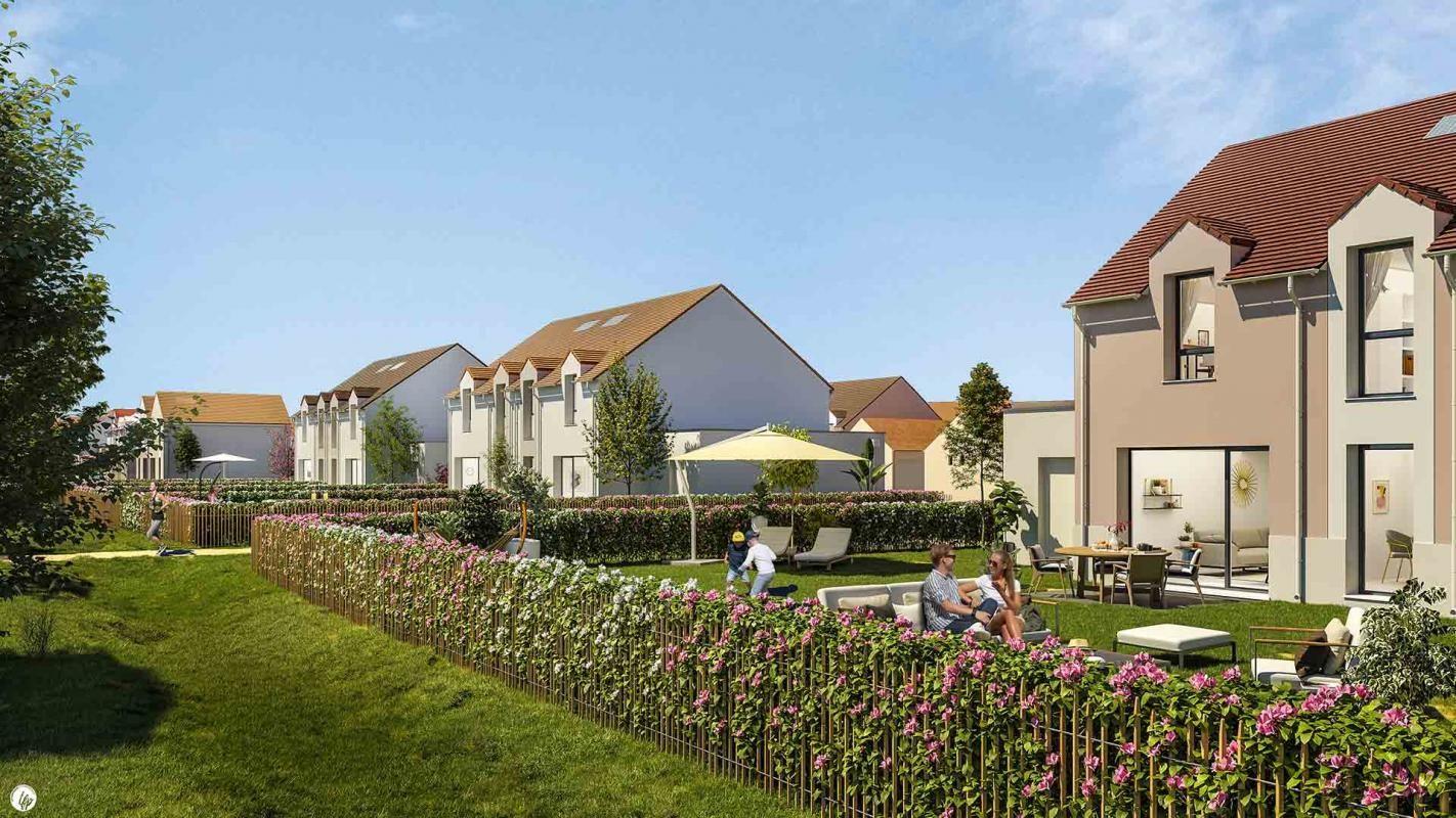 Vends appartements - Maison à T3- Le Parc des Archers - Montlhéry (91)