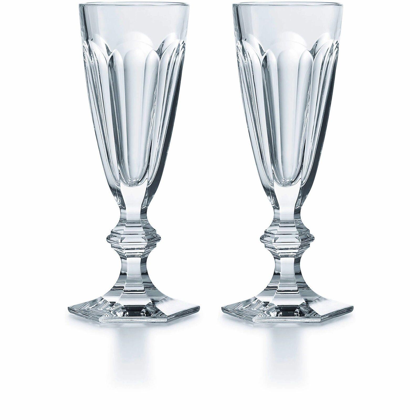 Baccarat, modèle Harcourt, 12flûtes à champagne