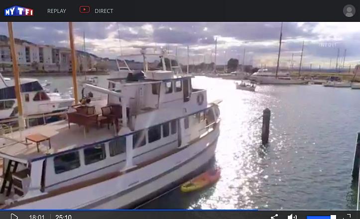 Loue bateau ancien de caractère au port de Sète - 3chambres 7couchages