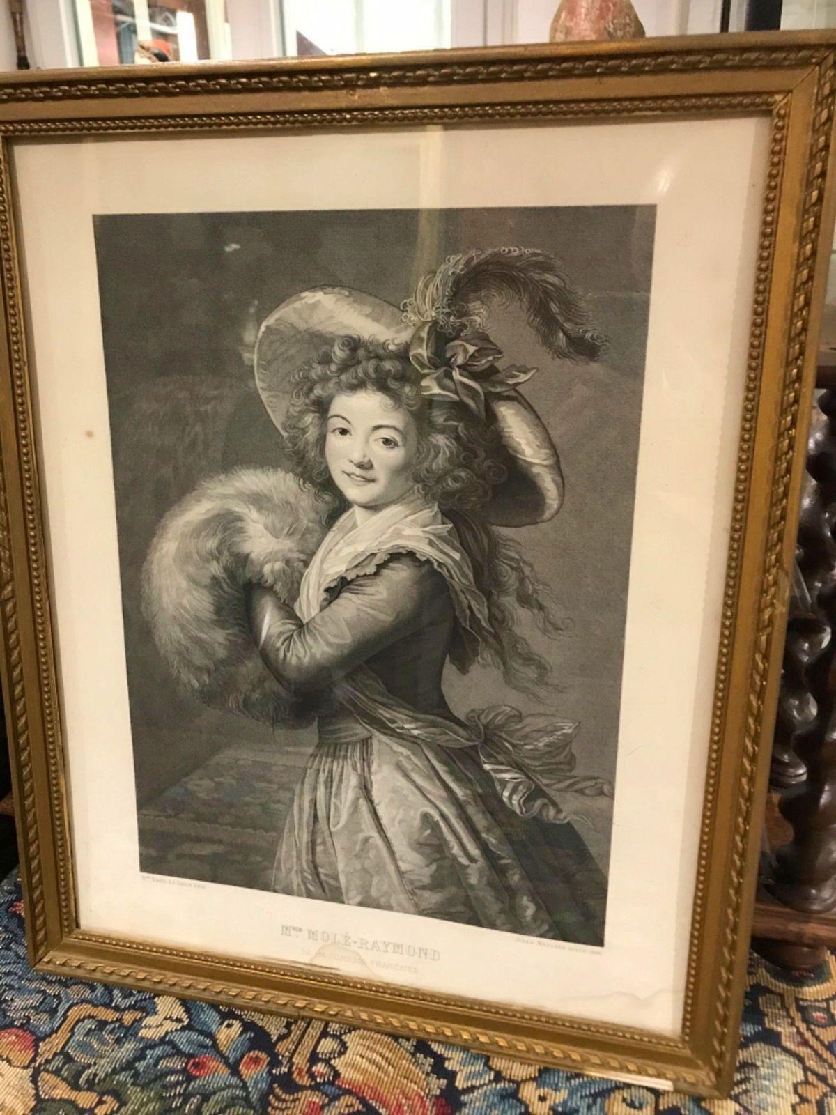 Belle gravure du XIX et