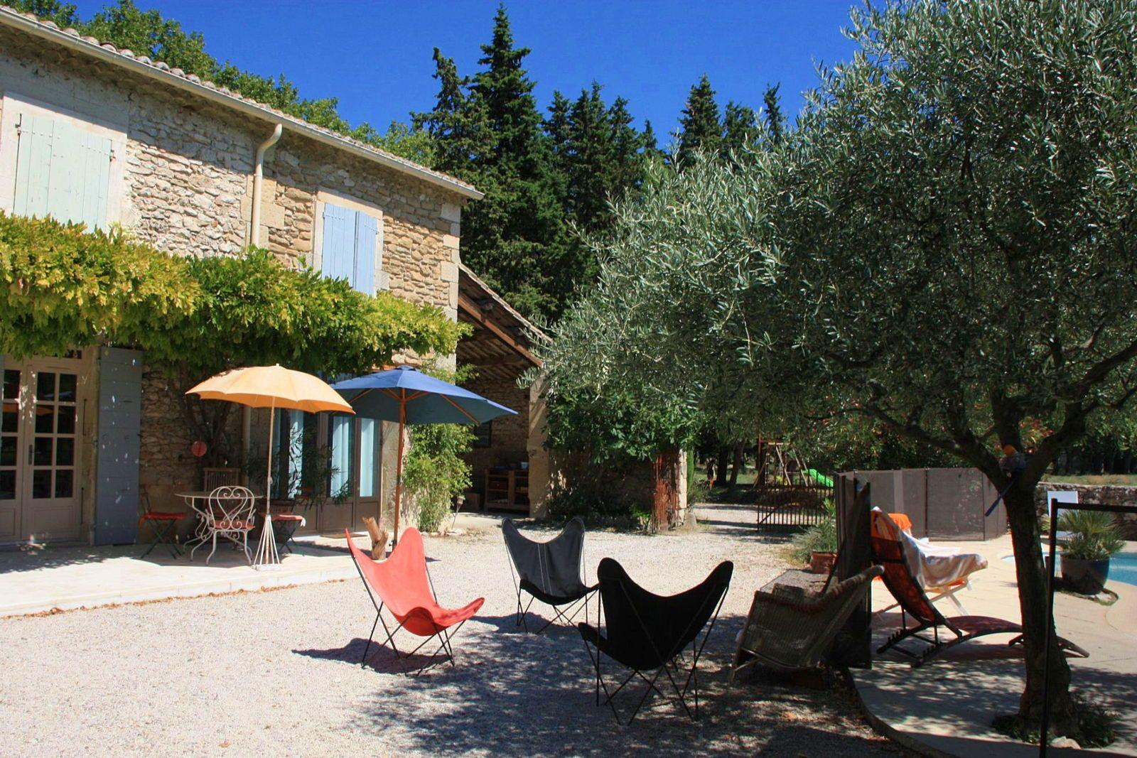 Loue belle maison en Drôme provençale 11couchages - Montjoyer (26)