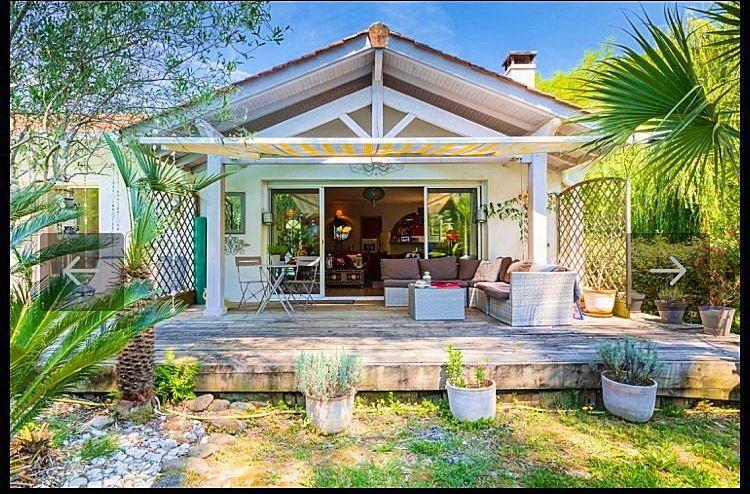 Loue maison - jardin - piscine privative - 4à 6couchages - Biarritz (64)