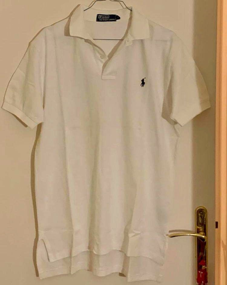Polo blanc Ralph Lauren Taille M