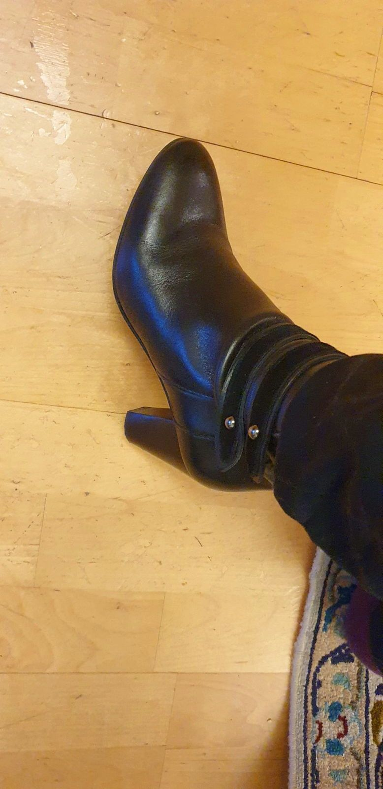 Bottines noires pointure 36