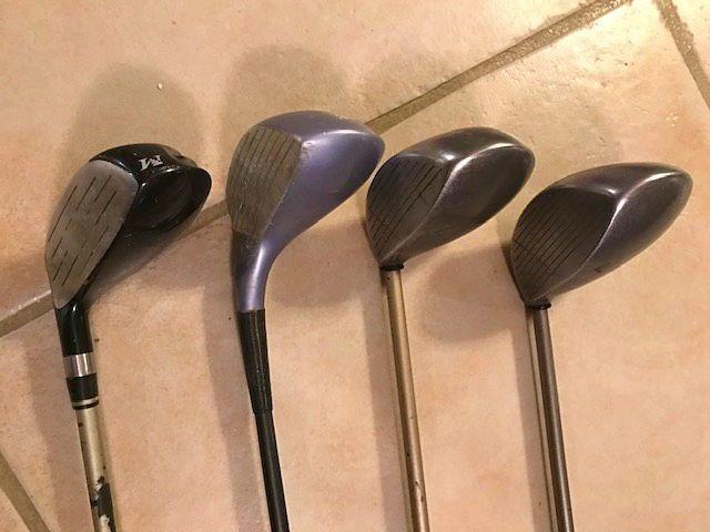 Lot de 4bois de golf pour femme