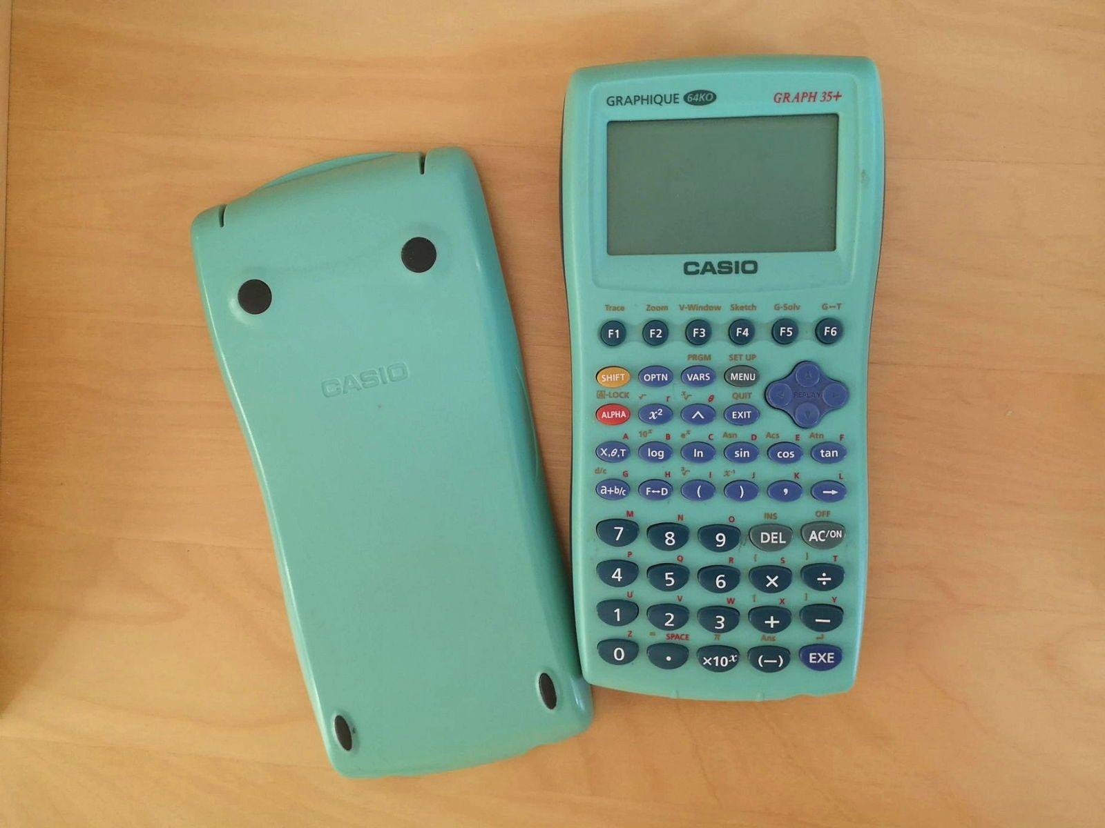 Calculatrice graphique Casio GRAPH 35+