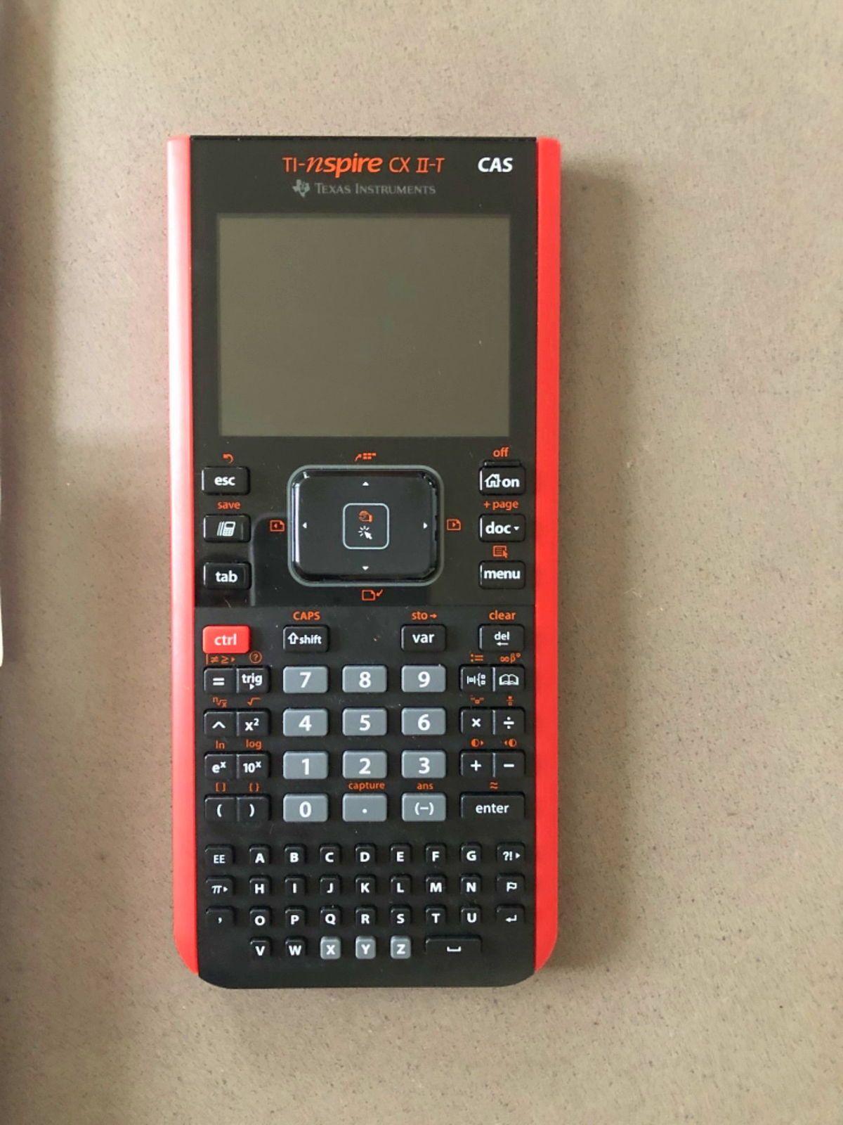 Calculatrice graphique Texas Instruments Ti-nspire CX IIT CAS