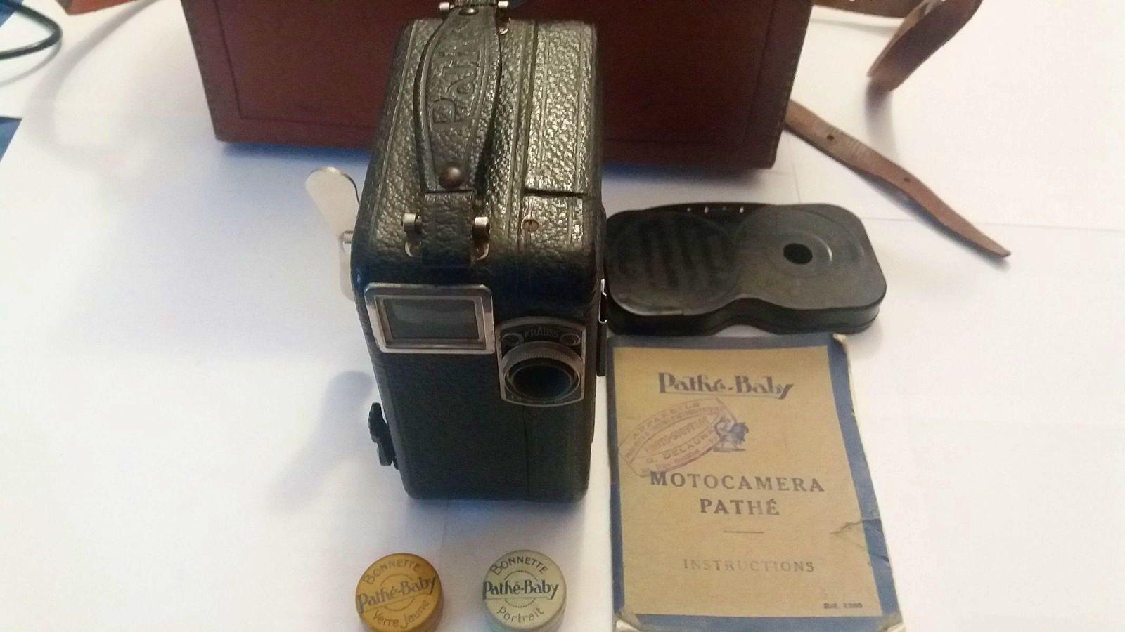 Caméra Motocaméra Pathé Baby 9,5mm
