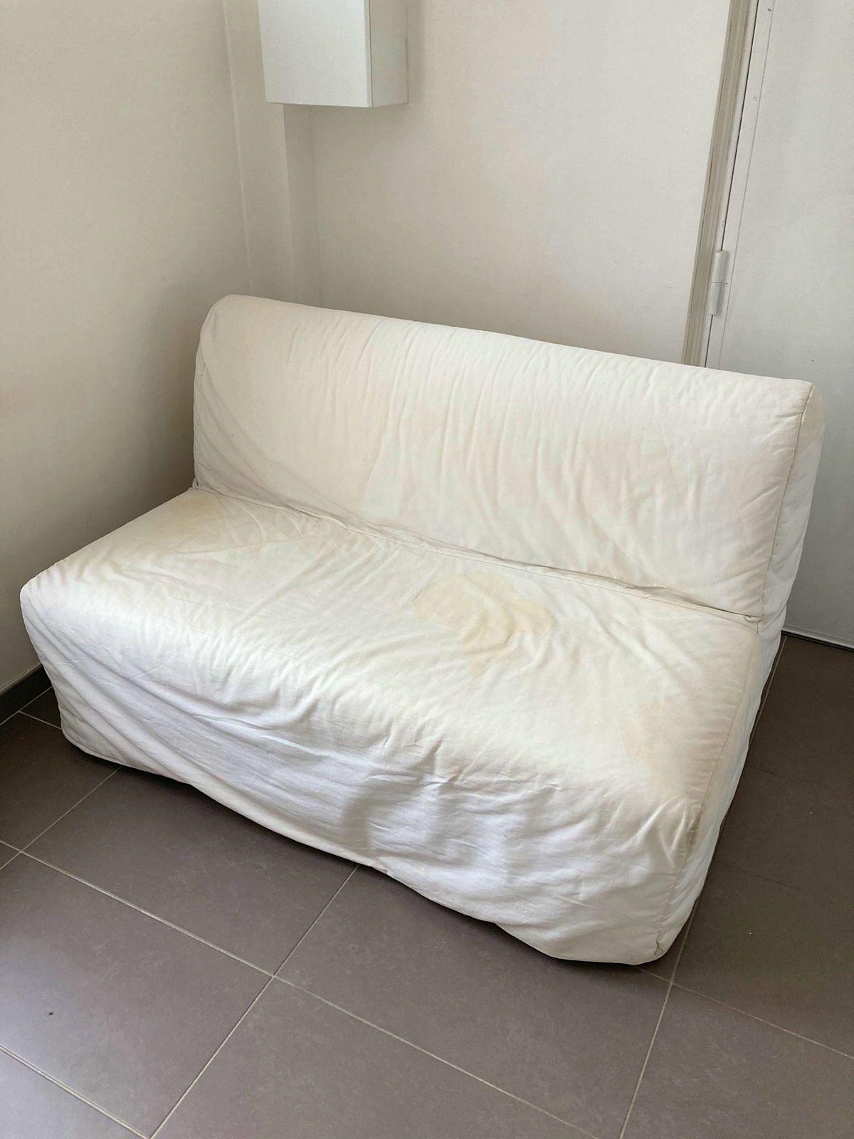 Canapé lit 2places Ikéa