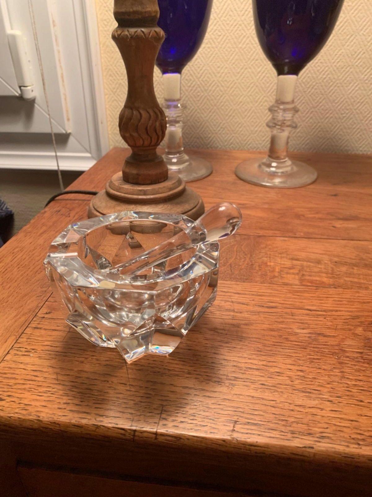 Cendrier cristal de Baccarat