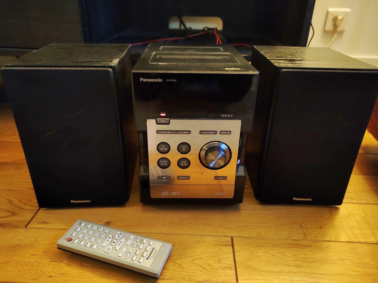 Chaîne stéréo Panasonic CD, USB, Auxiliaires