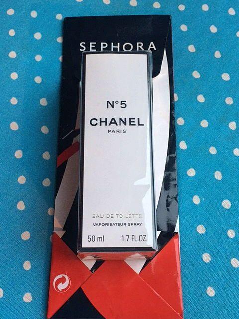 Chanel N°5eau de toilette vaporisateur spray 50ml