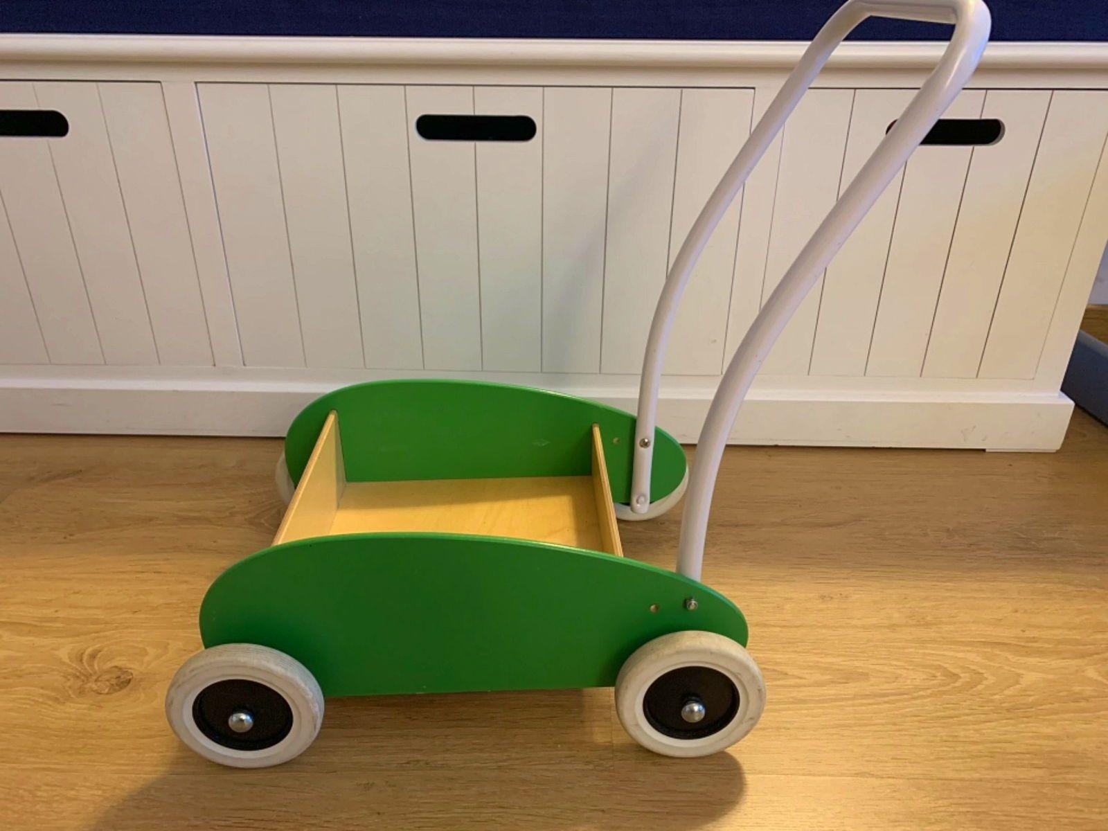 Chariot de marche IKEA vert en bon état