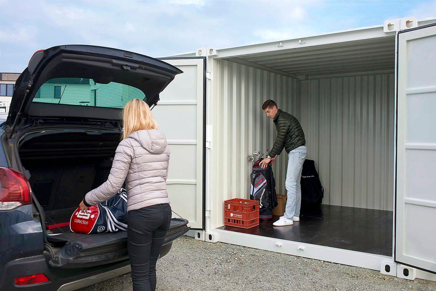 Loue à Cherbourg box de stockage sécurisés accès 7j/24h de plain pied