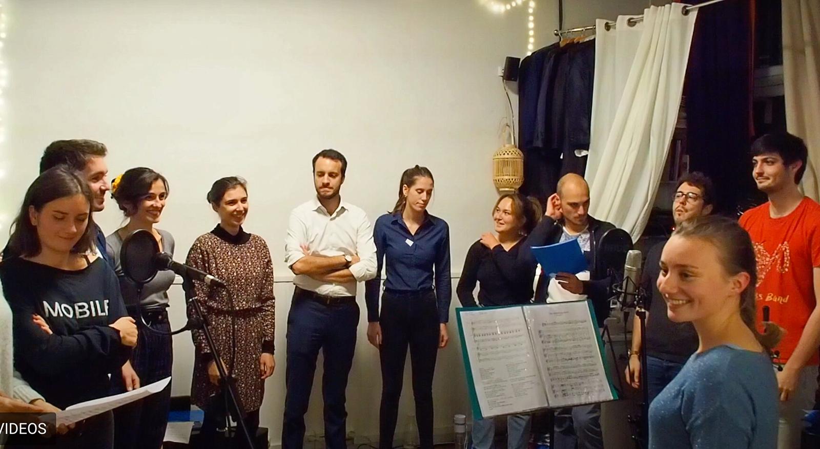 Propose services de chorale pour team building et séminaire 🎶
