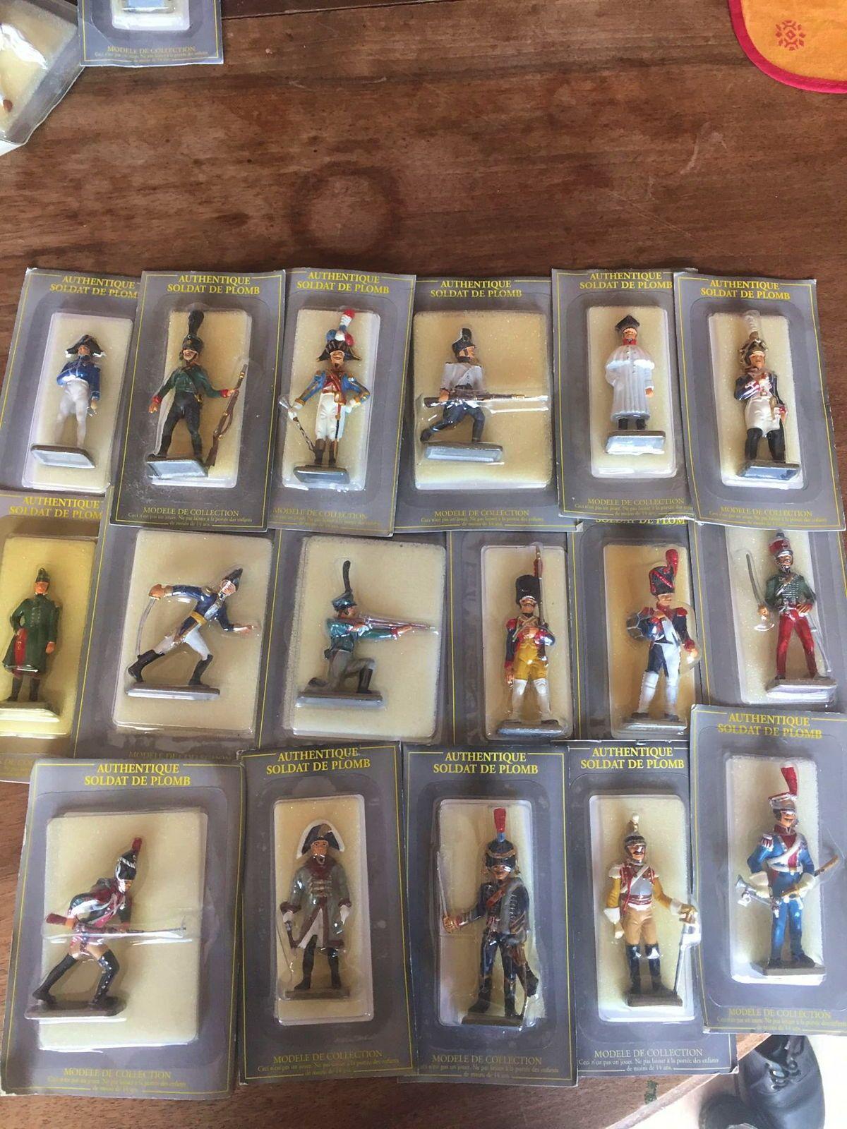 Collection de soldates de plomb armée Napoléonienne