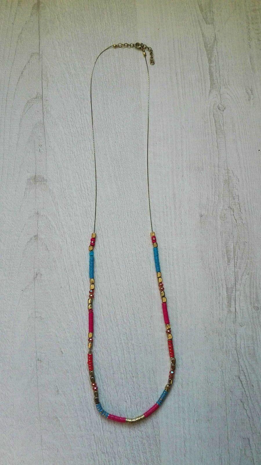 Collier sautoir perles