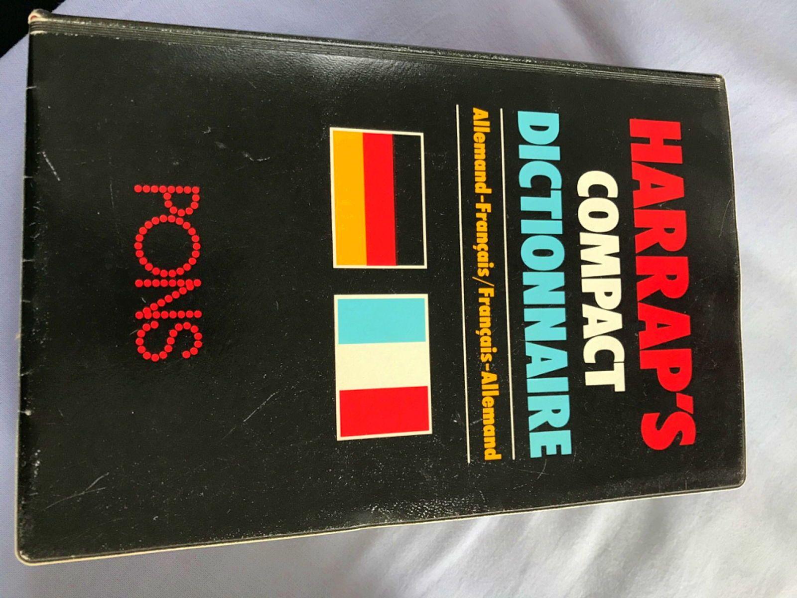Dictionnaire allemand - français