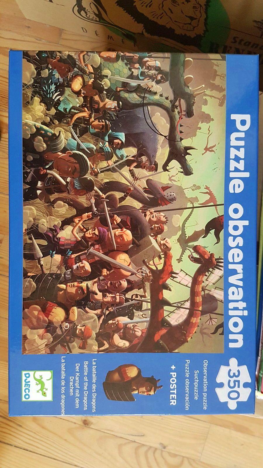 DJECO puzzle 350pièces pour 7-8ans