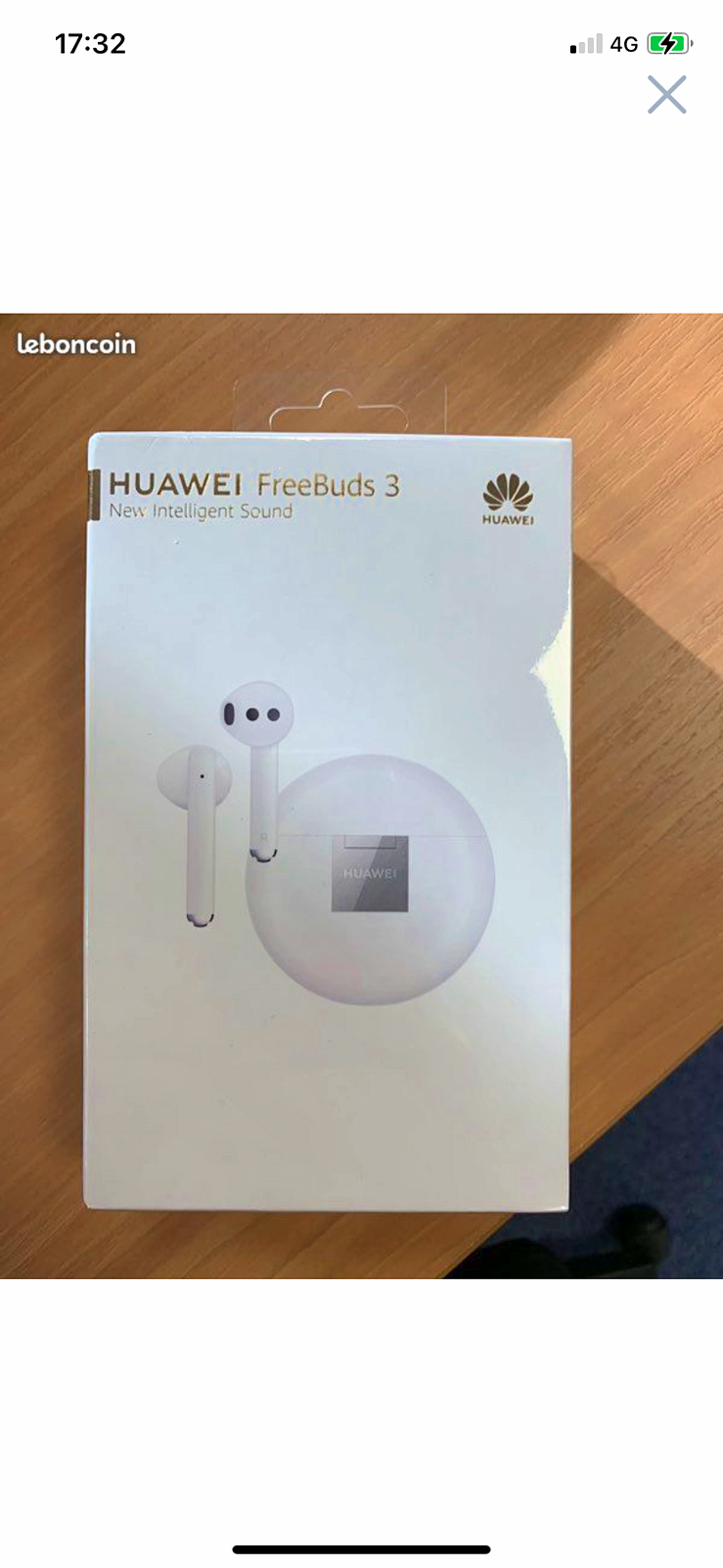 Écouteur freebuds 3sans fil Bluetooth Huawei