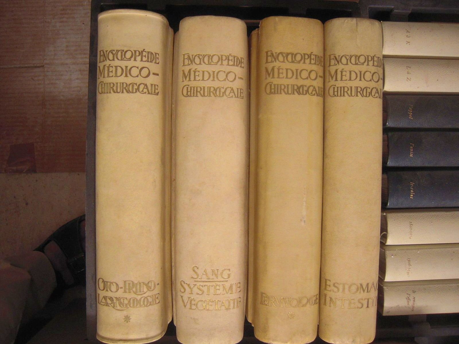 Lot d'encyclopédies