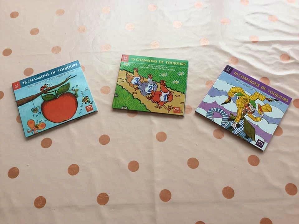 """CD enfants (3-7ans)""""15chansons de toujours"""""""