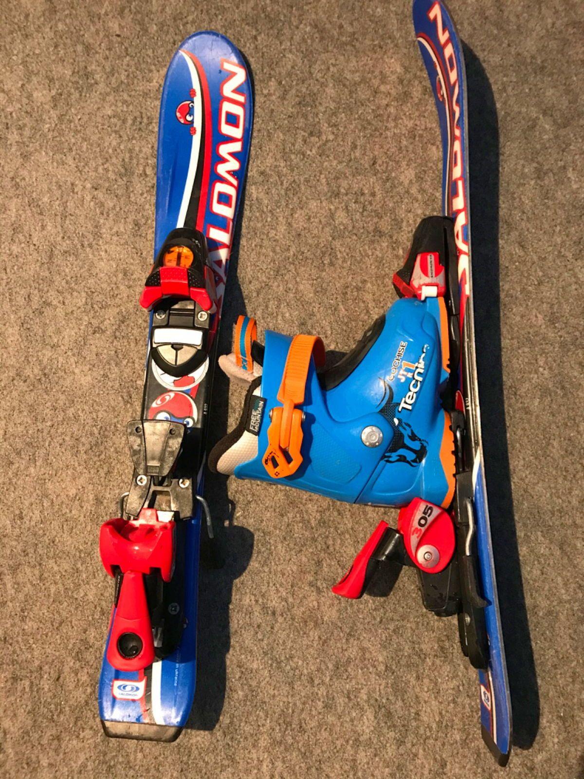 Ensemble ski et chaussure enfant, taille 14