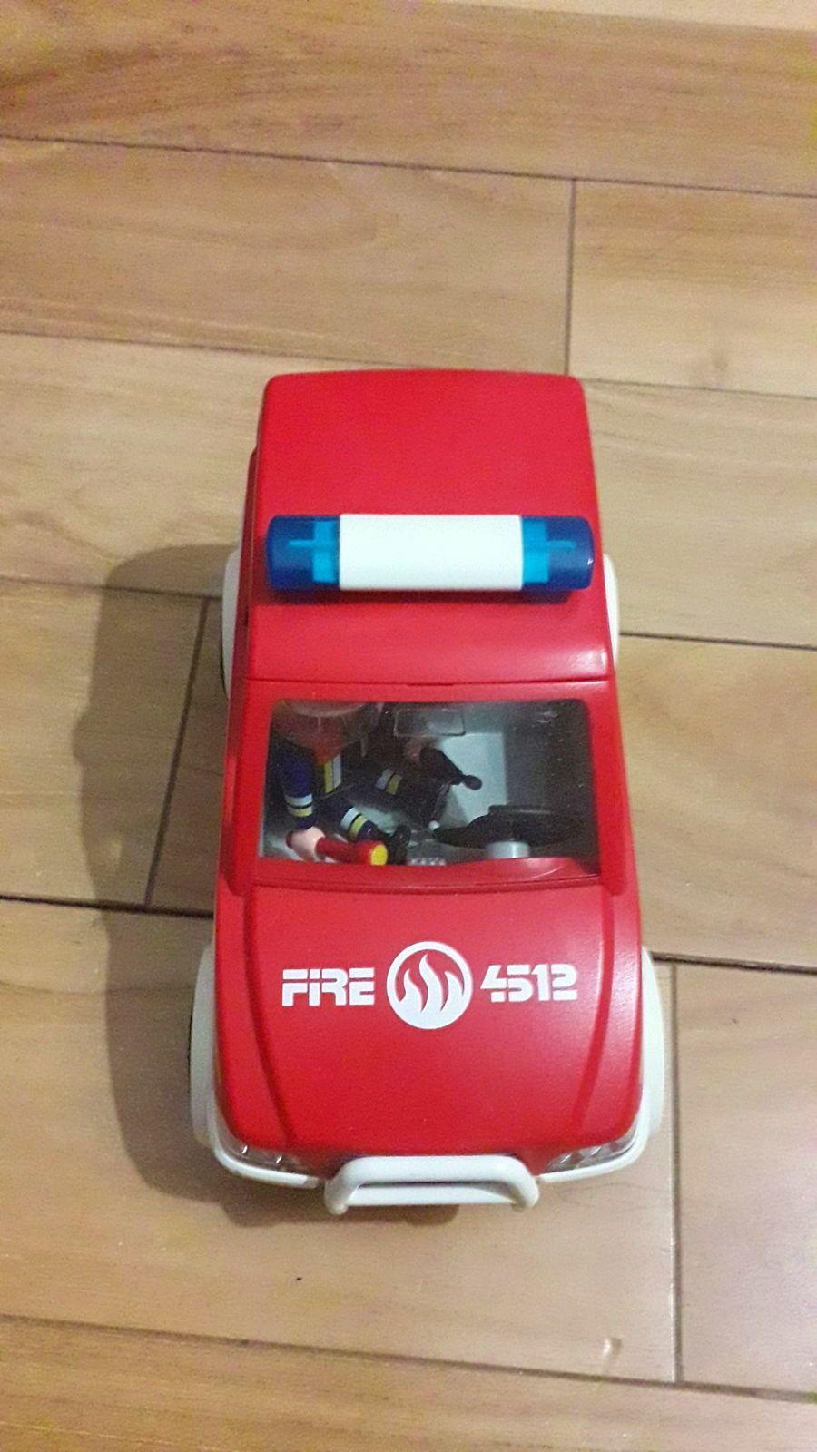 Ensemble Playmobil de pompier