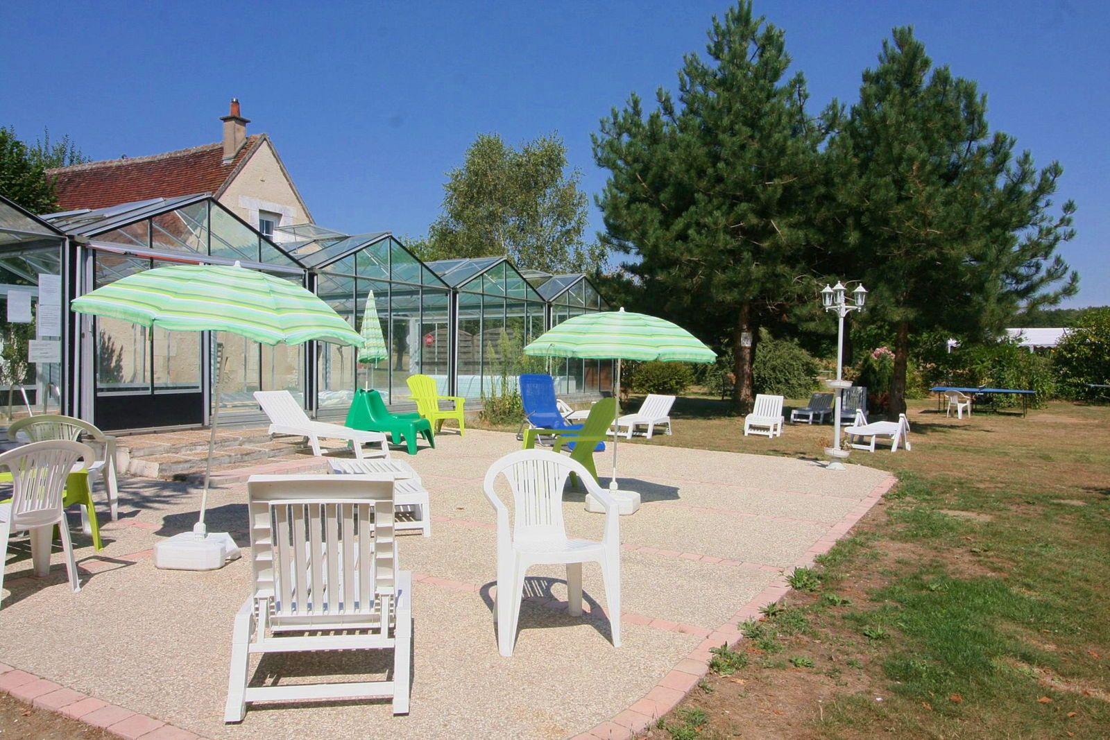 Grand gîte*** de 7à 33couchages piscine chauffée grand parc Touraine