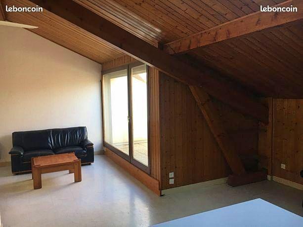 Loue grand studio 36m² + Terrasse 6m² - La Tronche (38)