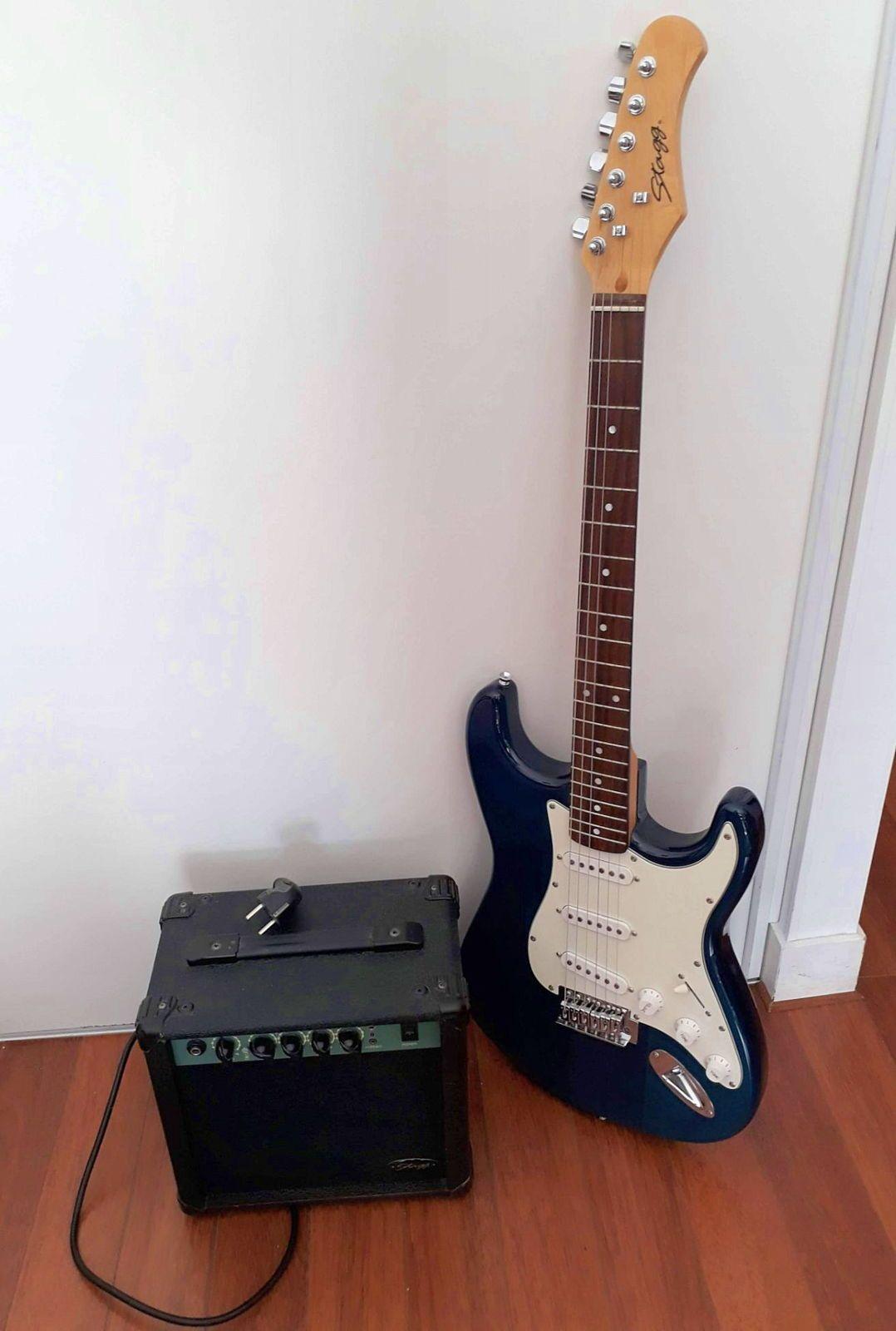 Guitare électrique et ampli Stagg