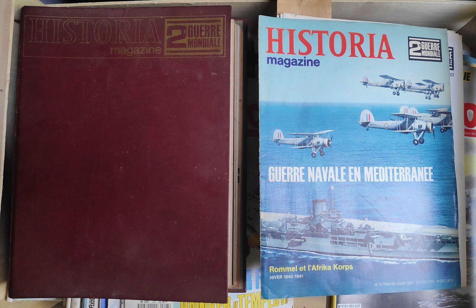 Historia Magazine - 2e guerre mondiale - 1ère et 2e éditions