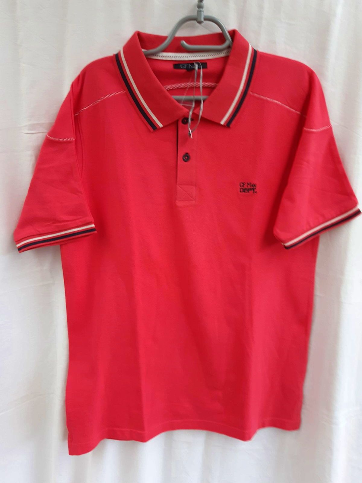 "Polo homme ""GF Man"" rouge neuf taille 3"