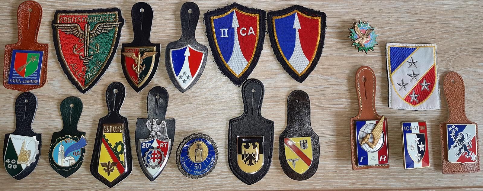 Insignes des Forces Françaises en Allemagne(FFA)