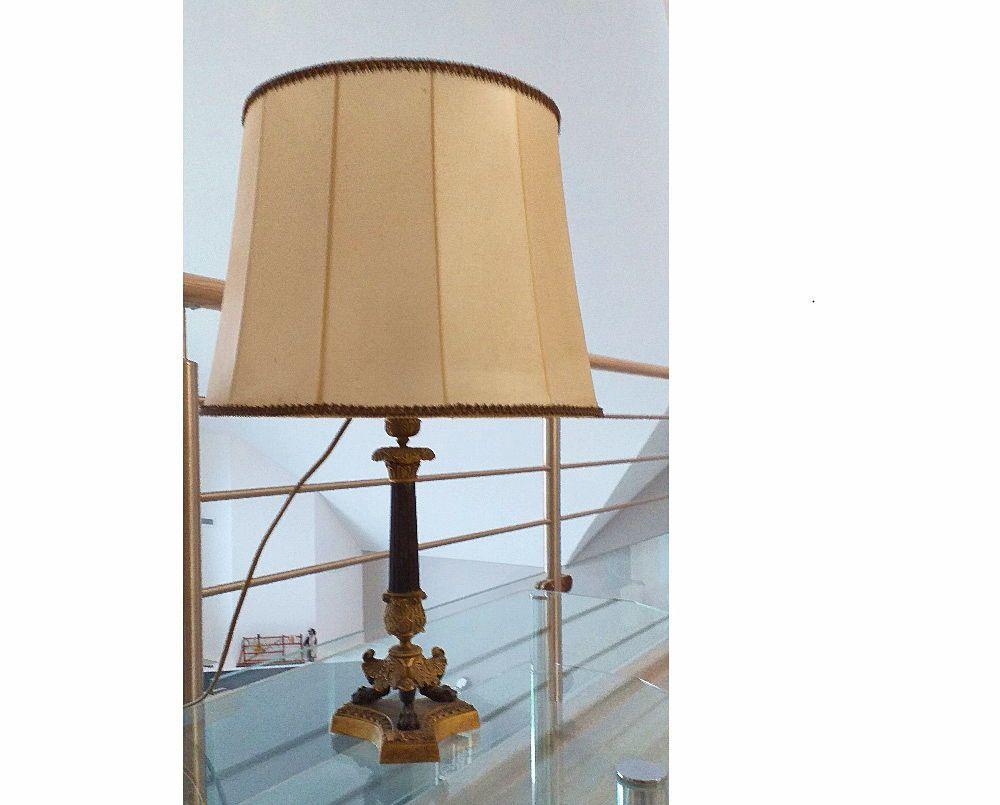 Lampe chandelier de style Napoléon3en très bon état
