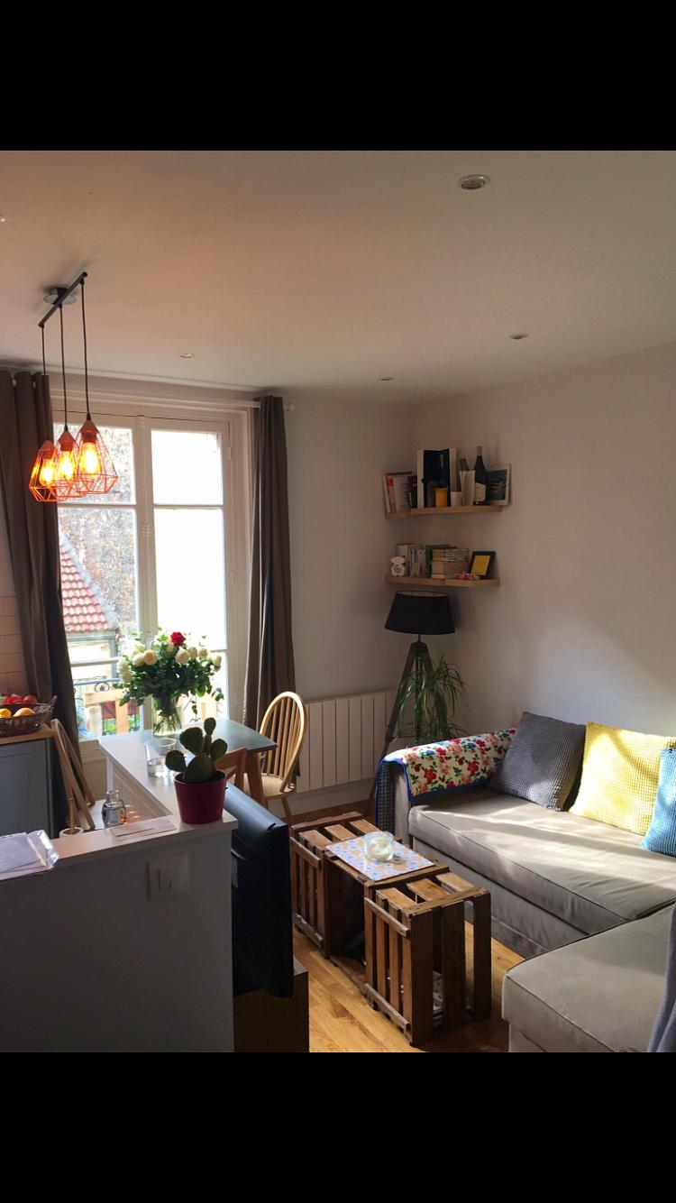 Loue appartement T3de 45m² à Levallois Perret (92)