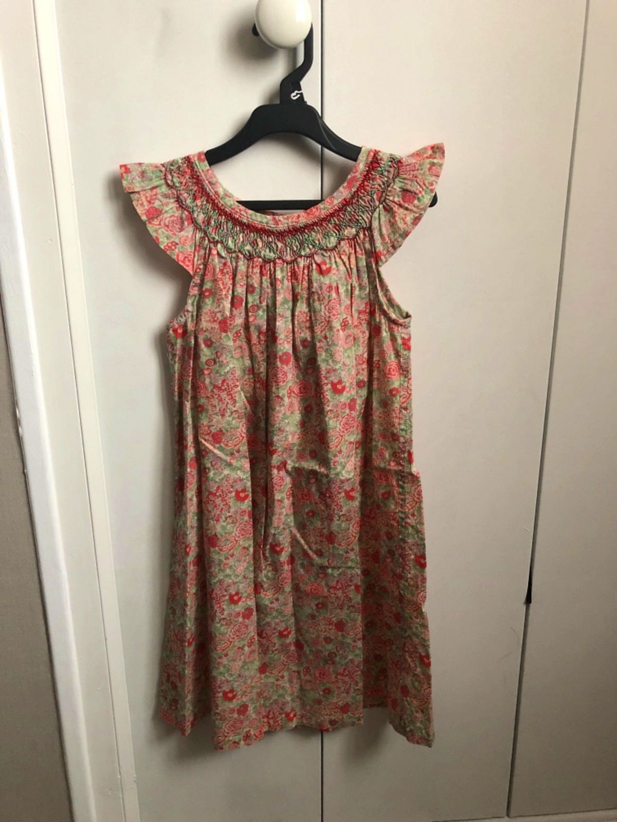 Robe Liberty et smock Oh Rigaline - Taille 8ans