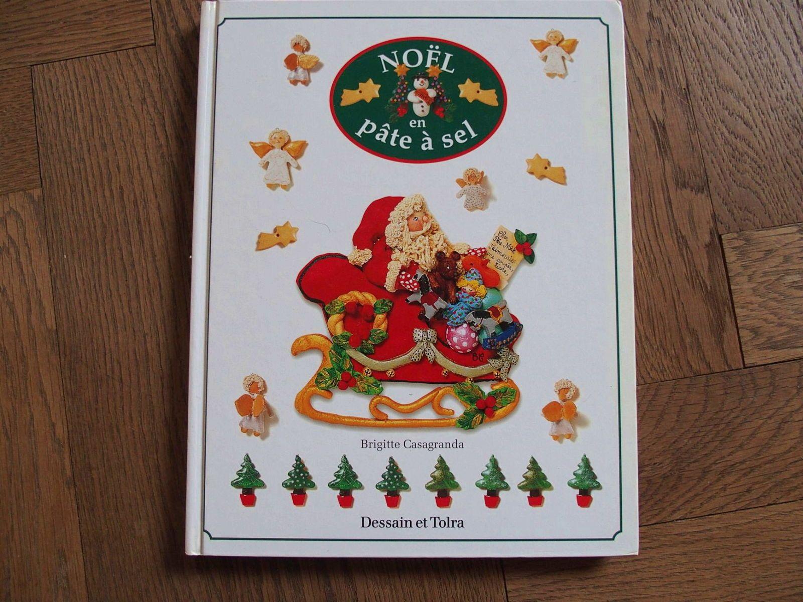 Livre: Noël en pate à sel