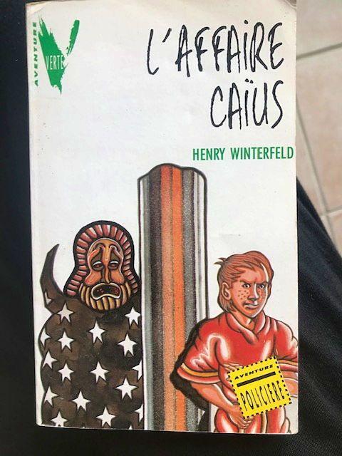 Livre L'affaire Caius