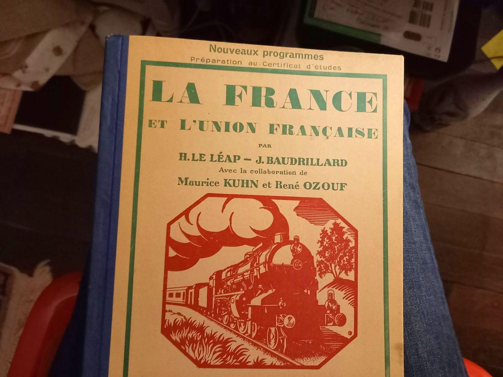 Livre ancien 1947France & Union francaise Le Léap-Baudrillard